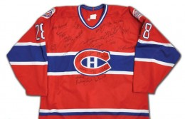 Montreal Canadiens Signed jersey