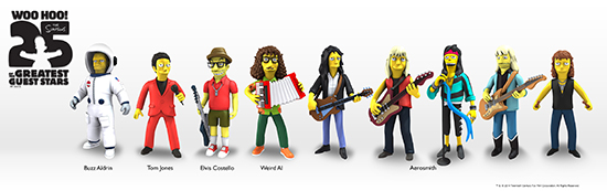 NECA Simpsons 25 of the Greatest Guest Stars Figures 4
