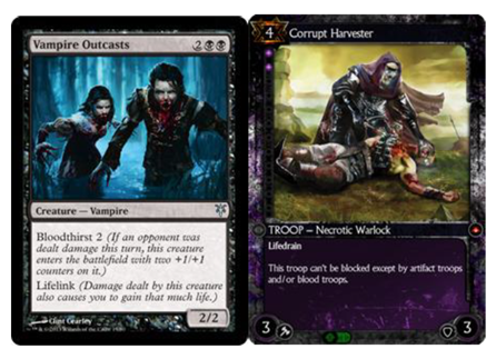 Side by side Magic, Hex