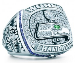 Super Bowl XLVIII Seattle Seahawks Ring