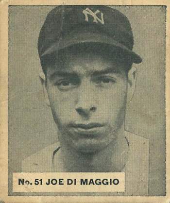 Top 10 Vintage Joe DiMaggio Cards 3