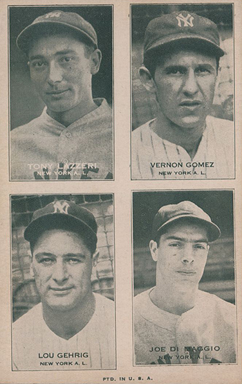 Top 10 Vintage Joe DiMaggio Cards 4