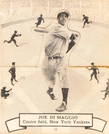 Top 10 Vintage Joe DiMaggio Cards 5