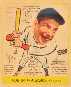 Top 10 Vintage Joe DiMaggio Cards 7