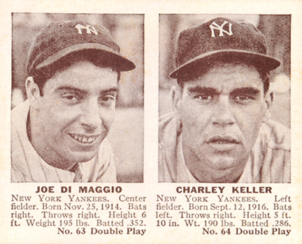 Top 10 Vintage Joe DiMaggio Cards 10