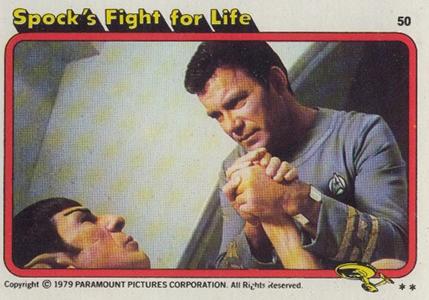 1979 Topps Star Trek The Motion Picture 50