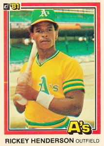 1981 Donruss Baseball Cards 1