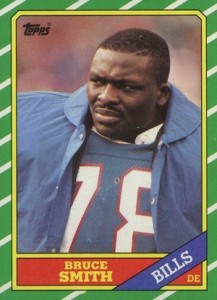1986 Topps Bruce Smith RC #389