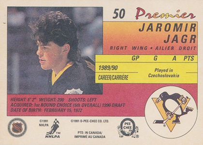 1990-91 O-Pee-Chee Premier Hockey Cards 2
