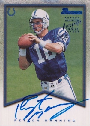 Top Peyton Manning Autograph Cards to Collect 1