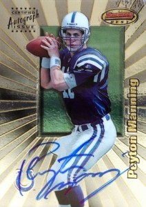 Top Peyton Manning Autograph Cards to Collect 2