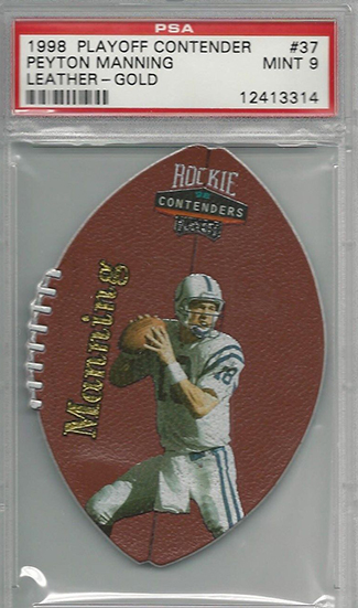 So Many Awesome 1998 Playoff Contenders Peyton Manning Rookie Cards 5