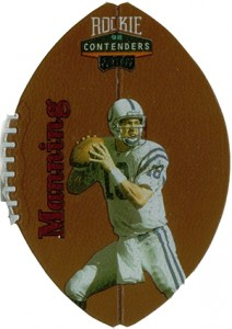 So Many Awesome 1998 Playoff Contenders Football Peyton Manning Cards 6