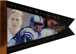 So Many Awesome 1998 Playoff Contenders Peyton Manning Rookie Cards 10