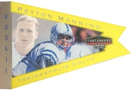 So Many Awesome 1998 Playoff Contenders Peyton Manning Rookie Cards 13