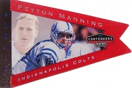 So Many Awesome 1998 Playoff Contenders Peyton Manning Rookie Cards 9