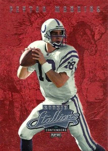 So Many Awesome 1998 Playoff Contenders Football Peyton Manning Cards 16