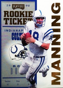 So Many Awesome 1998 Playoff Contenders Football Peyton Manning Cards 3