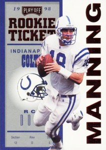 So Many Awesome 1998 Playoff Contenders Peyton Manning Rookie Cards 2