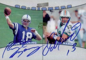 Top Peyton Manning Autograph Cards to Collect 5