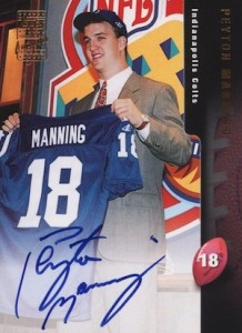 Top Peyton Manning Autograph Cards to Collect 4