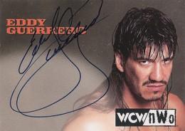 1998 Topps WCW nWo Autographs Eddie Guerrero