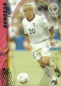 2002 Panini World Cup Landon Donovan #118