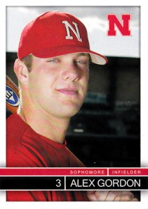 Alex Gordon Rookie and Prospect Card Guide 21