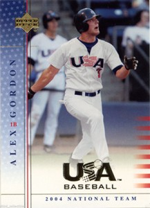 Alex Gordon Rookie and Prospect Card Guide 30