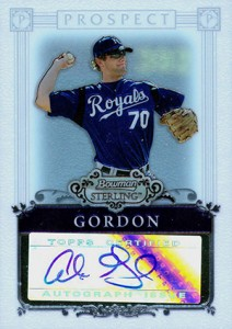 Alex Gordon Rookie and Prospect Card Guide 34