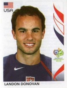 2006 Panini World Cup Stickers Landon Donovan #355