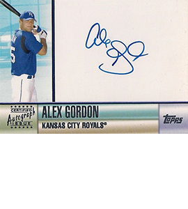 Alex Gordon Rookie and Prospect Card Guide 35