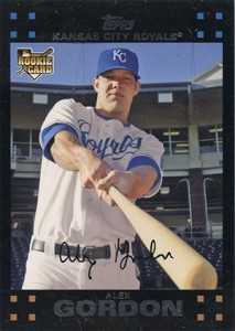 Alex Gordon Rookie and Prospect Card Guide 1