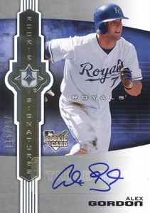 2007 Upper Deck Ultimate Collection Alex Gordon