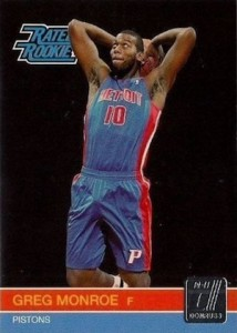 2010-11 Donruss Greg Monroe RC