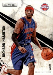 2010-11 Rookies and Stars Richard Hamilton