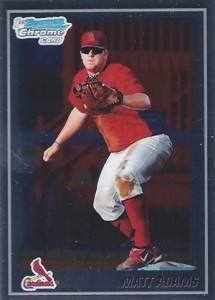 2010 Bowman Chrome Matt Adams