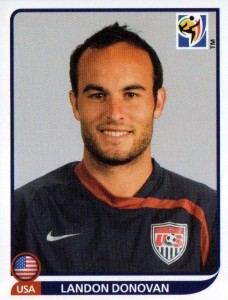 2010 Panini World Cup Stickers Landon Donovan #218