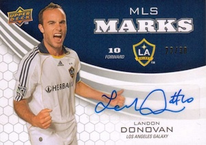 2011 Upper Deck MLS Marks Landon Donovan