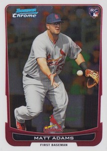 Matt Adams Rookie Cards and Prospects Cards Guide 6
