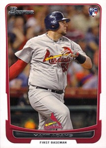 2012 Bowman Draft Matt Adams
