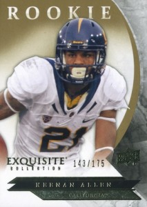 2012 Exquisite Collection Keenan Allen #ER-KA