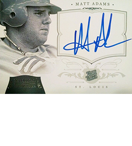 2012 Panini National Treasures Matt Adams 270x300
