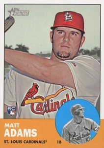 2012 Topps Heritage High Numbers Matt Adams