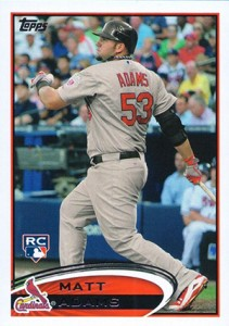 2012 Topps Update Series Matt Adams