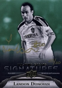 2012 Upper Deck All-Time Greats Signatures Landon Donovan