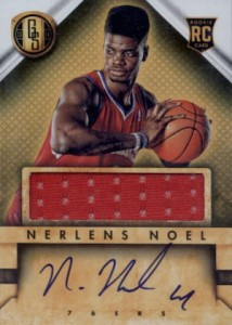 2013-14 Panini Gold Standard #240 Autographed Jersey Nerlens Noel RC