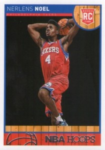2013-14 Panini NBA Hoops #266 Nerlens Noel RC