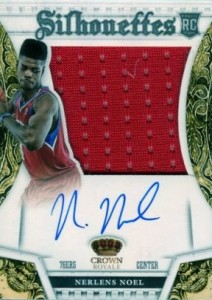 2013-14 Panini Preferred #377 Autographed Jersey Nerlens Noel RC