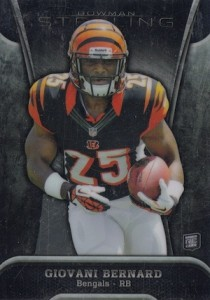 Giovani Bernard Rookie Card Checklist and Guide 2